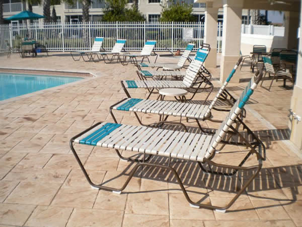 Aluminum Pool Lounge Chairs