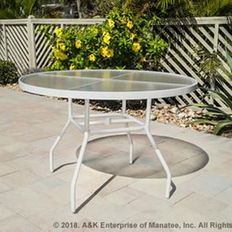 A-36 Acrylic Patio Dining Table