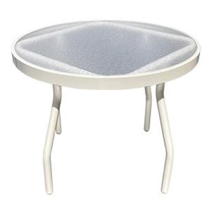A24-2 Acrylic 24-inch Side Table