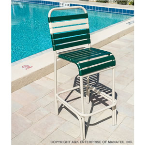 C75 Strap Patio Bar Stool