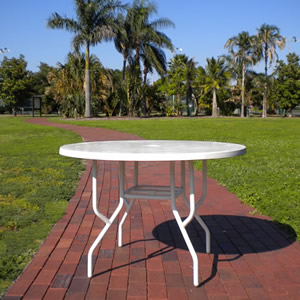 SALE: FL42 Fiberglass Patio Table