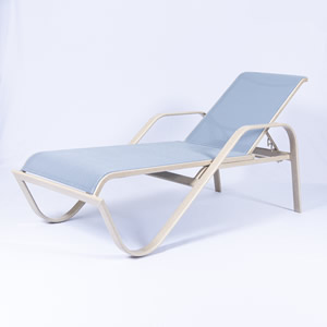 SW165 16-in. Sling Chaise Lounge