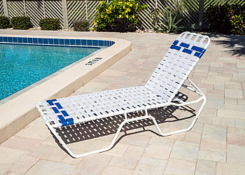 C140 contract pool furniture lounger