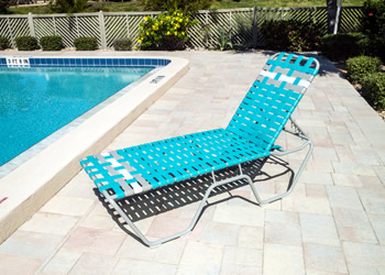 C160B basketweave chaise lounge wholesale
