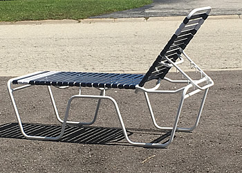 C200 outdoor lounge chair extra high