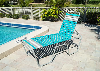 C200 commercial or residential outdoor chaise