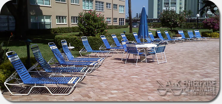 A k enterprise commercial patio pool furniture for Best poolside furniture