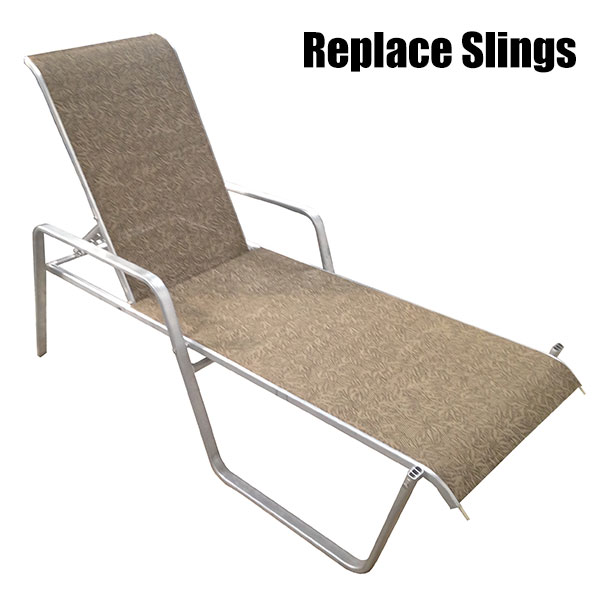 Patio Furniture Reslinging